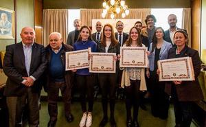 Amanda Agüeros gana el certamen del Club Rotario 'Protagonistas del mañana'