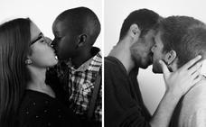 Un crowdfunding para reivindicar la igualdad con fotografías de besos