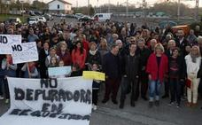 Polanco grita 'No' a la nueva depuradora de Vuelta Ostrera