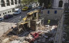 El nuevo acceso a la catedral comienza a tomar forma