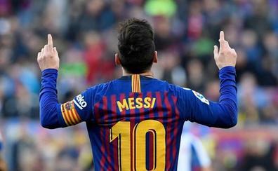 Hubo derbi hasta que Messi quiso