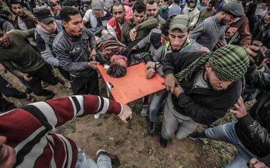 Violencia contenida en el aniversario de la Gran Marcha del Retorno en Gaza