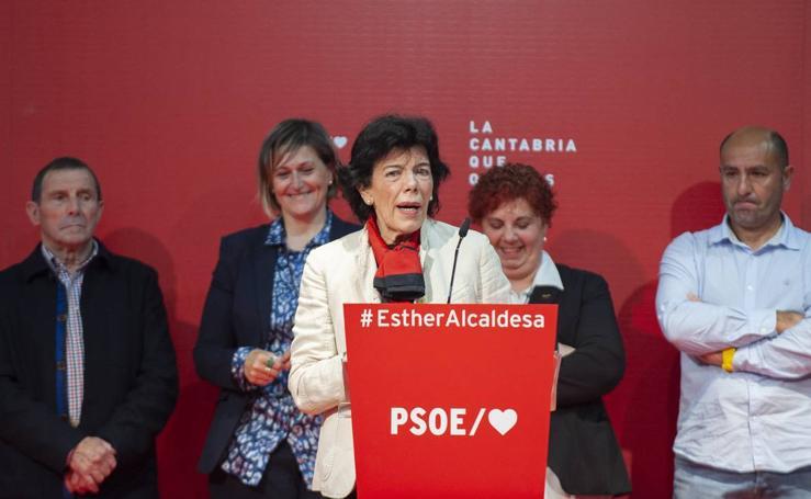 Isabel Celaá visita Cantabria