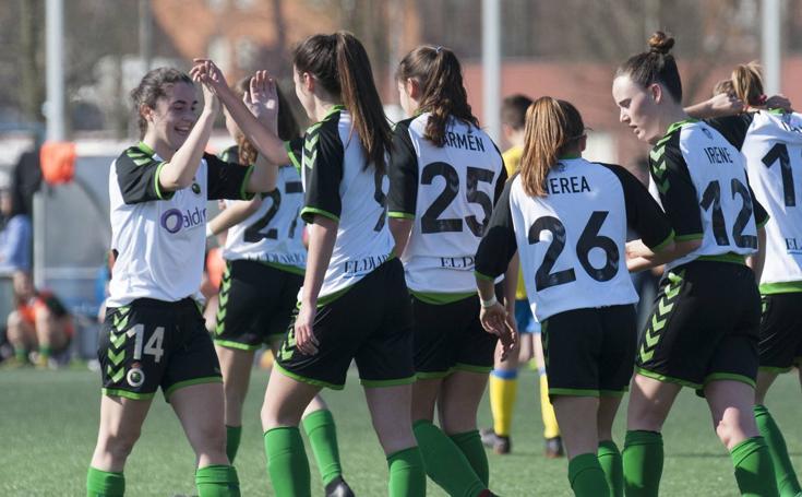 Imágenes del partido Racing Féminas - Atlético Arousana