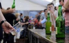Arranca la Feria de la Sidra de Cantabria en la Plaza Porticada