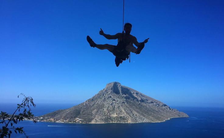 Un paraíso de la escalada en el Mar Egeo