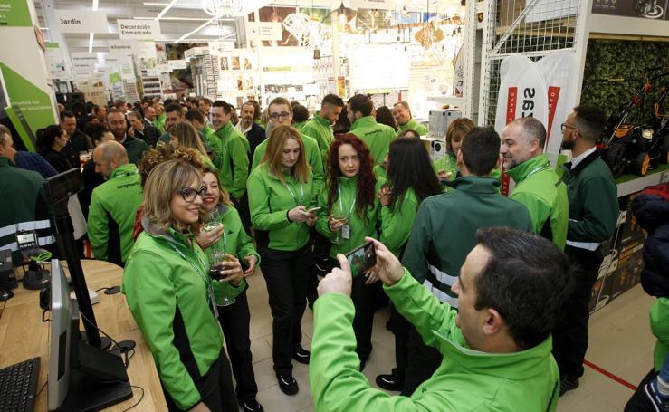 Leroy Merlin inaugura su nueva tienda en Torrelavega