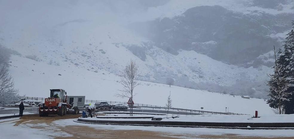 Picos de Europa estará hasta el domingo en riesgo notable de aludes
