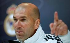 Zidane asegura que no ha decidido quiénes le sobran