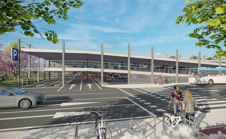 El PP propone un parcamiento disuasorio en La Marga