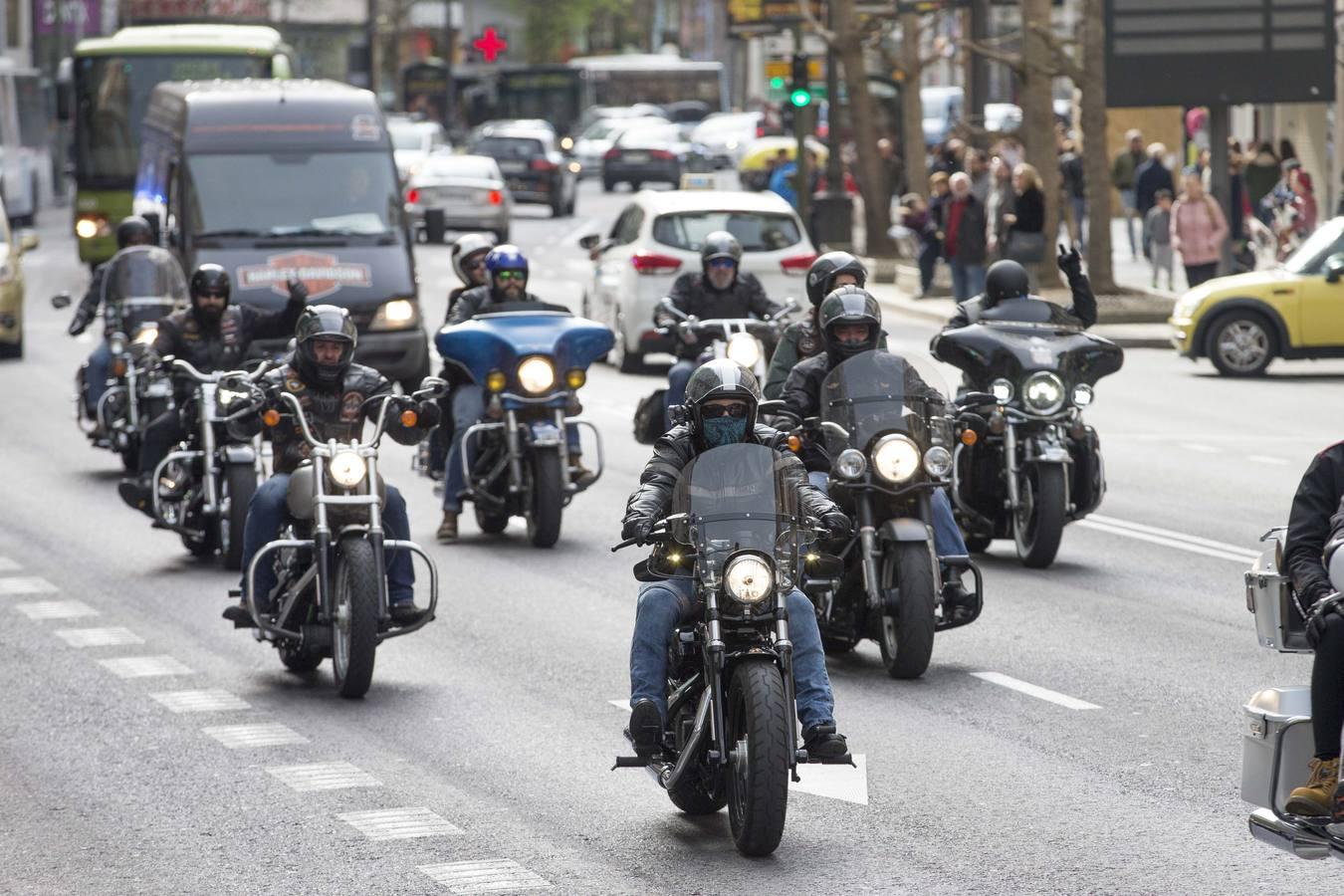 Ruta en Harley