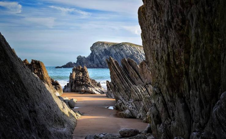 La torrelaveguense Montse Ortega llena Instagram con su mirada infinita sobre Cantabria