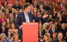 Sánchez recupera el «no es no» para el referéndum y la independencia de Cataluña