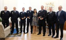 La Policía Local de Santander incorpora tres nuevos agentes que acceden al cuerpo por el turno de movilidad