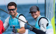 Diego Botín y Iago López-Marra suman una medalla de plata al equipo español de vela en Palma