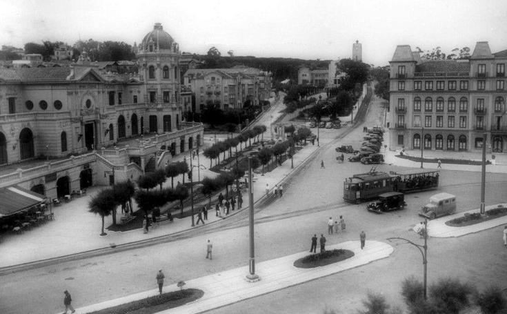 Evolución de la plaza de Italia a lo largo de los años