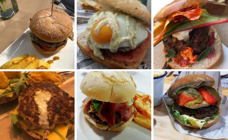 Seis restaurantes compiten por la mejor hamburguesa de Cantabria
