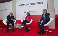 La Universidad de Cantabria recibirá 5,4 millones del Banco Santander en los próximos tres años