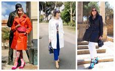 Las gabardinas se alían al estilazo de las 'Power Woman Style'