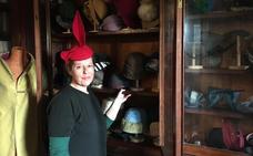 La santanderina María José Pereda de Castro, una sombrerera de talento inquieto