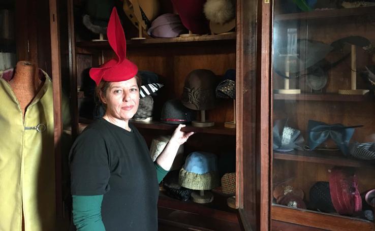 María José Pereda de Castro, una sombrerera de talento inquieto