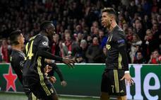 La Juventus se libra en otra exhibición del Ajax