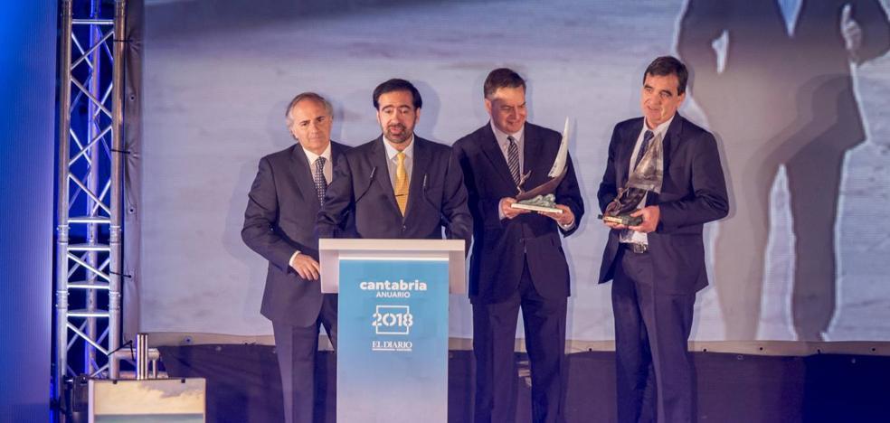 Íñigo Losada y Raúl Medina, Cántabros del Año 2018