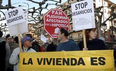 Plataformas antidesahucio advierten del riesgo de numerosas familias de Cantabria a quienes vence este año el alquiler social