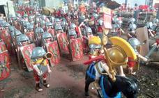 Los 'clicks' de playmobil traen una de romanos al Mupac