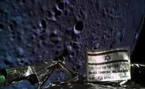 Israel se estampa contra la Luna