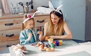 Diez manualidades creativas de Pascua para compartir en familia