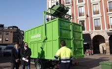 Torrelavega arroja cifras «históricas» en el reciclaje de vídrio