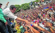 Guaidó garantiza un proceso «civil y pacífico» para derrotar al chavismo en Venezuela