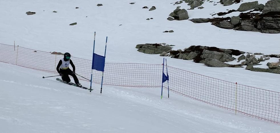 Román y Solar, ganadores del primer campeonato regional de Telemark