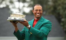 Tiger Woods ruge de nuevo con su triunfo en Augusta