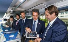 Los autobuses de la línea Santander-Reinosa inclurán wifi y sistemas de ocio