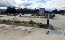 El aparcamiento del puerto de San Vicente no acaba de arrancar del todo
