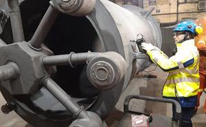 Un consorcio cántabro diseña un eje eólico para aerogeneradores 'offshore'