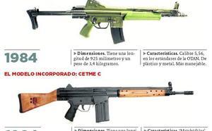 La Guardia Civil de Cantabria 'renueva' sus armas largas con un modelo más viejo