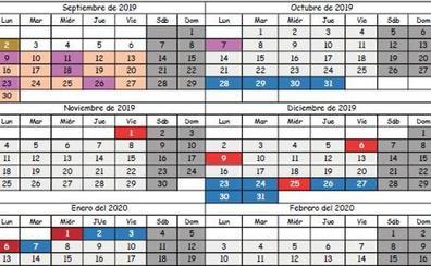 Calendario Escolar Cantabria 2020.Calendario Escolar En Cantabria El Diario Montanes