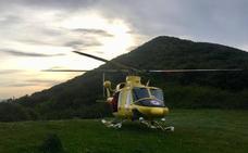 Rescatados en helicóptero dos adultos y un menor que se habían perdido en el Monte Buciero
