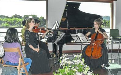El Trío alemán Lepor, primer premio del Concurso de Música de Cámara de Trasmiera