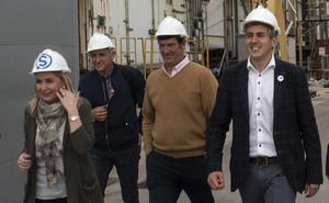 Zuloaga destaca el apoyo del PSOE a la industria del Besaya con el Plan Reindus