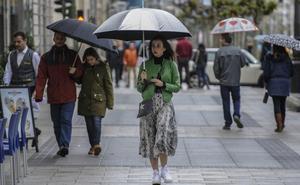 La Aemet ajusta su previsión y concentra las escasas lluvias para Cantabria en el día de hoy
