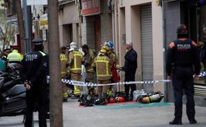 Mueren dos niños y su madre en un incendio en Barcelona