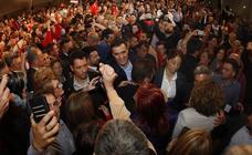 Pedro Sánchez hace campaña en Cantabria