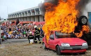 Los bomberos de Santander programan una nueva jornada de puertas abiertas el 5 de mayo
