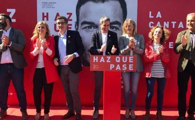 Patxi López asegura en Castro que a un país «no lo definen las banderas sino los principios sociales»