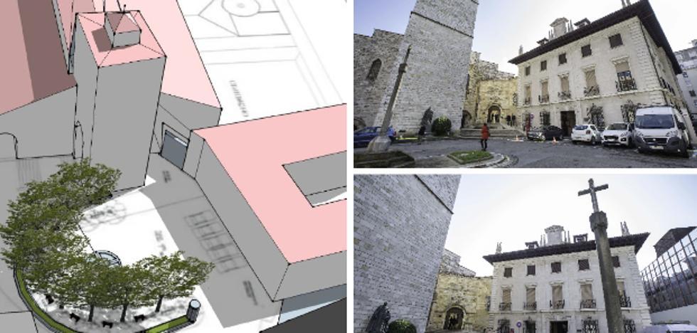 Senor será la encargada de ejecutar la nueva imagen de la plaza de la Catedral