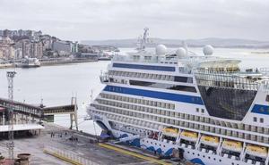 Más de 2.500 viajeros llegan a Santander a bordo del crucero AidaSol